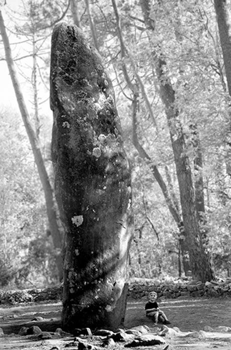 Cột đá Carnac: Một trong 80.000 cột đá tại khu vưc xã Carnac. (Ảnh: Freddy Silva)